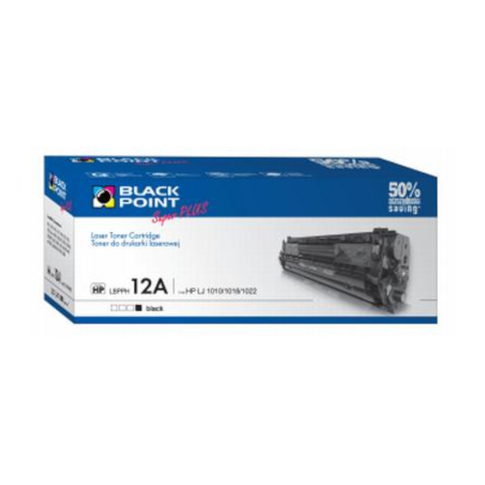 Toner HP LJ1010 (12A) BlackPoint SuperPlus LBPPH12A