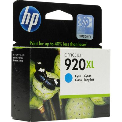 Cartridge HP 920XL cyan CD972AE