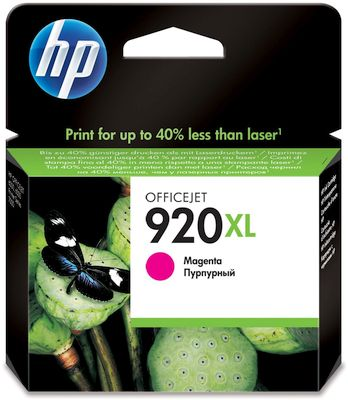 Cartridge HP 920XL magenta CD973AE