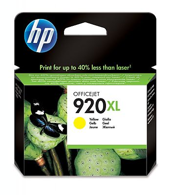 Cartridge HP 920XL yellow CD974AE