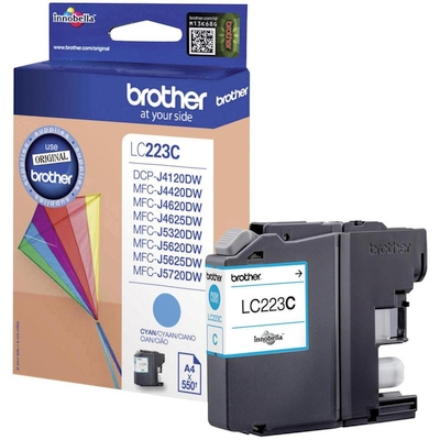 Cartridge Brother LC-223C cyan 600 str.