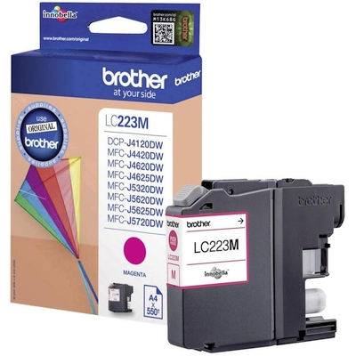 Cartridge Brother LC-223M magenta 600 str.