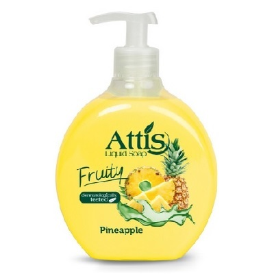 Mydło Attis Fruity 500 ml Pineapple